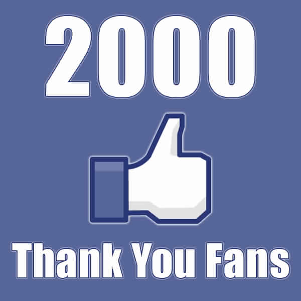 Facebook Account with 2000 Friends