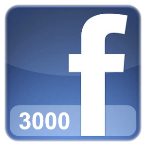 Facebook Account with 3000 Friends